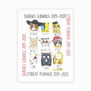 Akademi Çocuk - Akademi 2019-2020 Öğrenci Ajandası 3054 0541