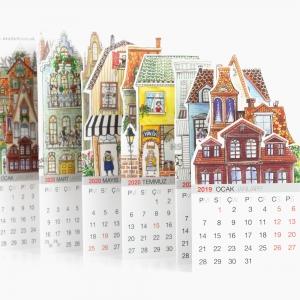 Akademi 2019-2020 World of Houses Takvim 0039 - Thumbnail