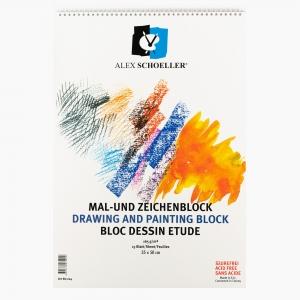 Alex Schoeller - Alex Schoeller Resim Defter 35x50cm 165gr 5024