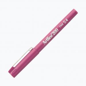 Artline - Artline 200 Fine 0.4 Fineliner Pink 0082