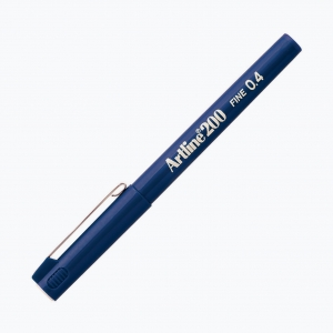 Artline - Artline 200 Fine 0.4 Fineliner Royal Blue
