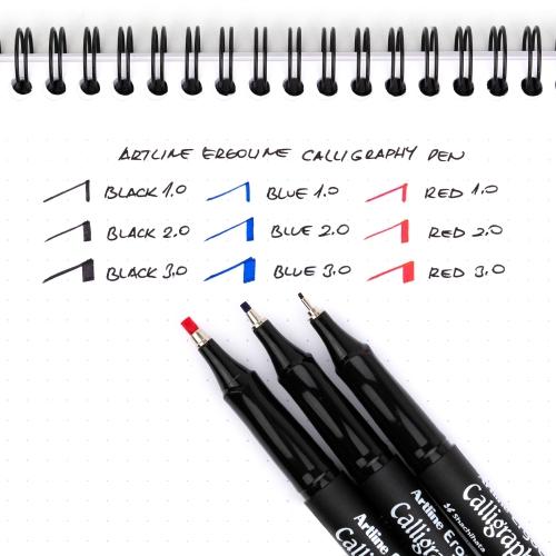 Artline Ergoline Calligraphy Pen 1.0 Kaligrafi Kalemi Mavi ERG-241 7199