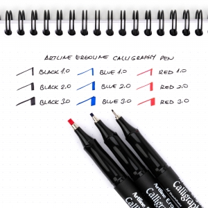 Artline Ergoline Calligraphy Pen 3.0 Kaligrafi Kalemi Mavi ERG-243 7274 - Thumbnail