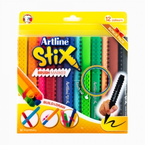 Artline - Artline Stick 12'li Fırça Uçlu (Brush) Kalem Seti 2311