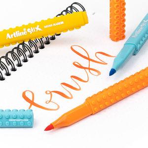 Artline Stix 12 Renk Fırça Uçlu Brush Kalem Seti 2311 - Thumbnail