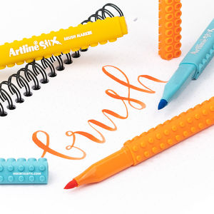 Artline - Artline Stix 20 Renk Fırça Uçlu Brush Kalem Seti 2304 (1)