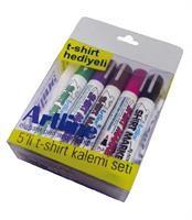 Artline - Artline Tekstil Kalem Seti 5'li