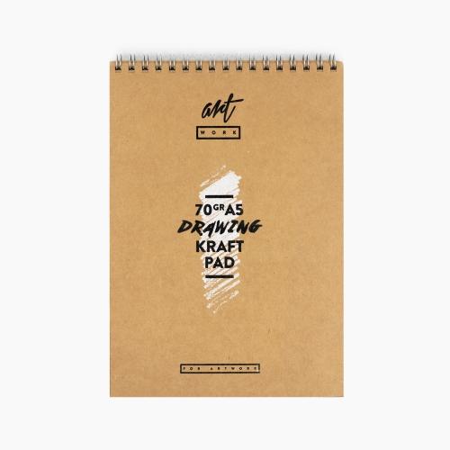 Artwork A5 Kraft Pad 70gr Çizim Defteri ART-70-A5 5845