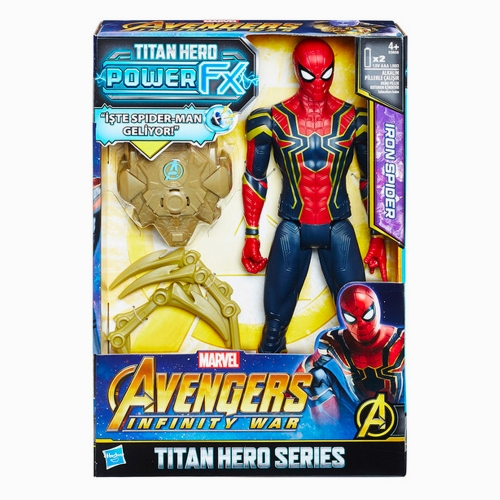 Avengers Infinity War Titan Hero Power FX Spiderman 9304
