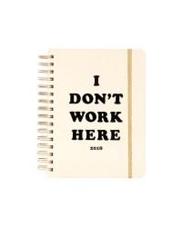 Bando - Bando 17 Aylık Planner Telli I Dont Work Here