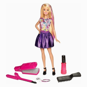 Barbie - Barbie Crimp & Curl 3737 (1)