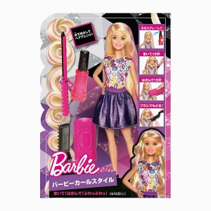 Barbie - Barbie Crimp & Curl 3737