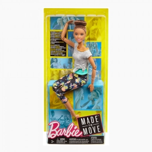 Barbie - Barbie Made to Move Brunette 3763