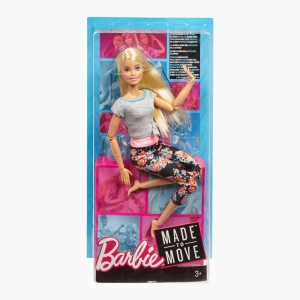 Barbie - Barbie Made to Move Doll Blonde 3756