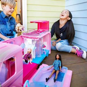 Barbie - Barbie Pembe Karavan 5087 (1)