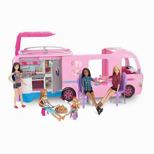 Barbie - Barbie Pembe Karavan 5087