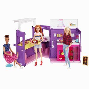 Barbie - Barbienin Yemek Arabası Oyun Seti GMW07 2898 (1)