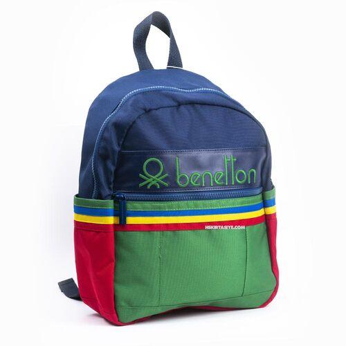 Benetton İki Bölmeli Anaokul Sırt Çantası 70040 0406