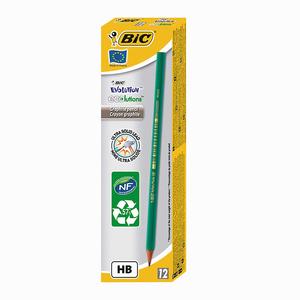 Bic - BIC Evolution France HB 12'li Ahşap Kurşun Kalem 4608