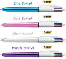 Bic - Bic Shine Color 4 Renk Tükenmez Kalem