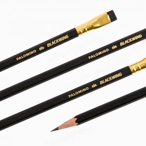 Palomino - Palomino Blackwing Silgili Ahşap Kurşun Kalem Siyah (1)
