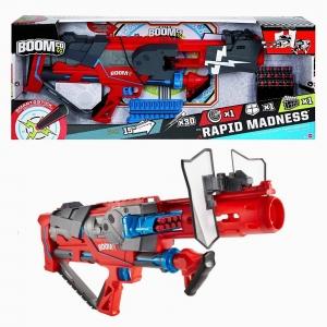 BOOMco - BOOMco Rapid Madness Red Blaster MATTEL 2410