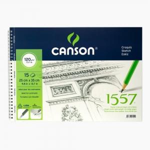 Canson - Canson 25x35 cm Eskiz Defteri 120gr 0251