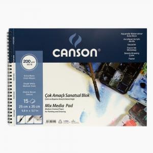 Canson - Canson 25x35 cm Resim Defteri 200gr 0145