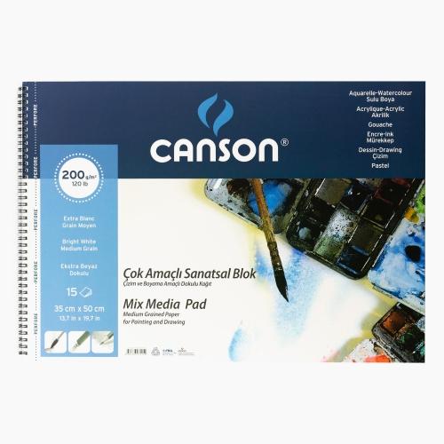Canson 35x50 cm Resim Defteri 200gr 0152