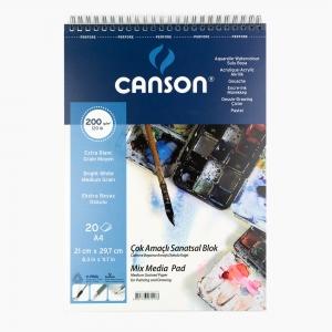 Canson - Canson A4 Resim Defteri 200gr 0176
