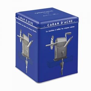 Caran Dache KLEIN BLUE Metal Masa Üstü Kollu Kalemtraş Limited Edition 455-648 - Thumbnail