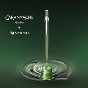 Caran Dache - Caran Dache Limited Edition 2 Nespresso Tükenmez Kalem (1)