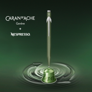 Caran Dache Nespresso No 2 Limited Edition Tükenmez Kalem 849-248 9858 - Thumbnail