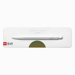 Caran Dache - CARAN d′ACHE 849 Claim Your Style Limited Edition Tükenmez Kalem Green (1)