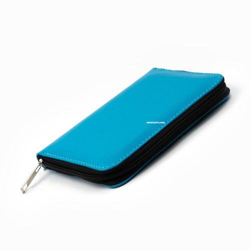 CARENS 6'lı Kalem Çantası ve Notluk Açık Mavi 0765