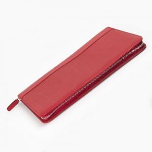 Carens - Carens Deri Kalem Çantası 40'lı Kırmızı