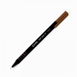 Caretta - Caretta Soft Liner 55 0.4 mm Fineliner 55-14 Kahverengi 1466
