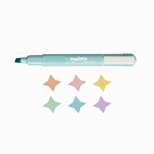 Carioca 6'lı Pastel İşaretleme Kalem Seti 0337