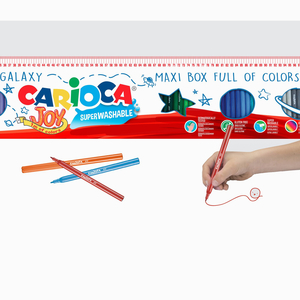 Carioca - Carioca 96'lı Süper Yıkanabilir Keçeli Kalem Seti 0223 (1)