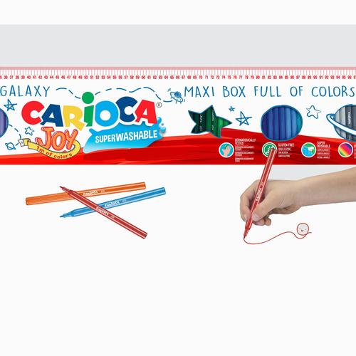 Carioca 96'lı Süper Yıkanabilir Keçeli Kalem Seti 0223