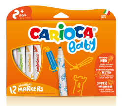 Carioca - Carioca Baby Keçeli Kalem 12li