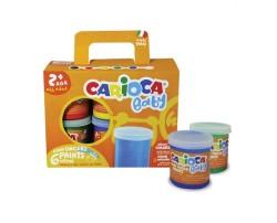 Carioca - Carioca Baby Parmak Boyası 6lı