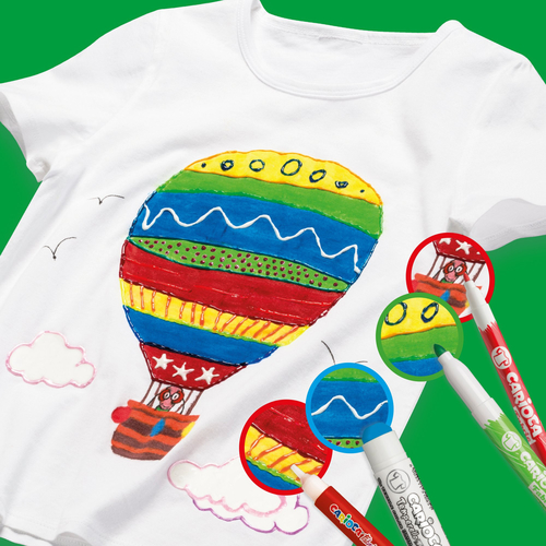 Carioca Fabric Liner 12'li Fine Tekstil Kalem Seti 9096