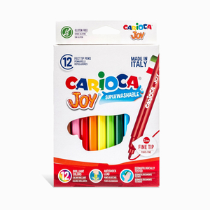 Carioca - Carioca Joy 12'li Yıkanabilir Keçeli Kalem Seti 6141