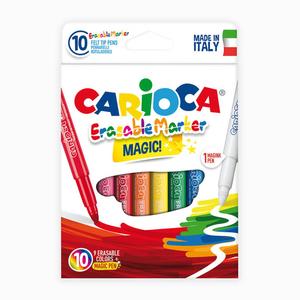 Carioca - Carioca Magic 10'lu Silinebilir Sihirli Keçeli Kalemler 2388