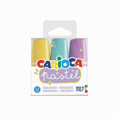 Carioca Pastel 3 Renk Mini İşaretleme Kalemi 1686