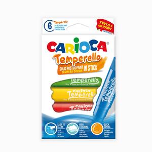 Carioca - Carioca Temperello 6′lı Poster Boya Kalemi 7399
