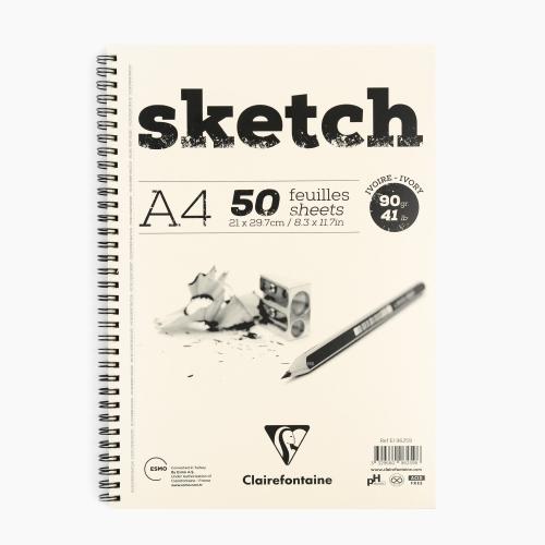 Clairefontaine A4 Sketch Pad 90gr. Çizim Defteri 96259 2598