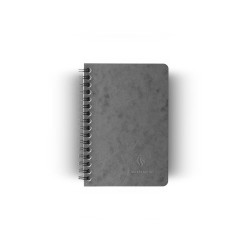Clairefontaine - Clairefontaine Age Bag A6 Telli Kareli Defter Gri