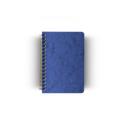 Clairefontaine - Clairefontaine Age Bag A6 Telli Kareli Defter Mavi 9242